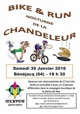 Bike & Run Nocturne De La Chandeleur