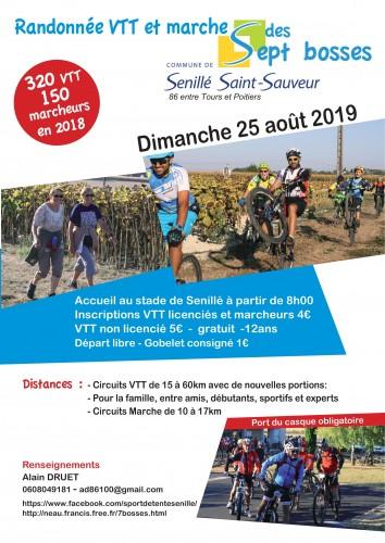 Randonnée VTT Et Marche Des 7 Bosses à Senillé (86)